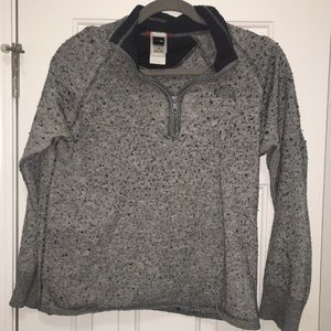 The North Face grey pullover